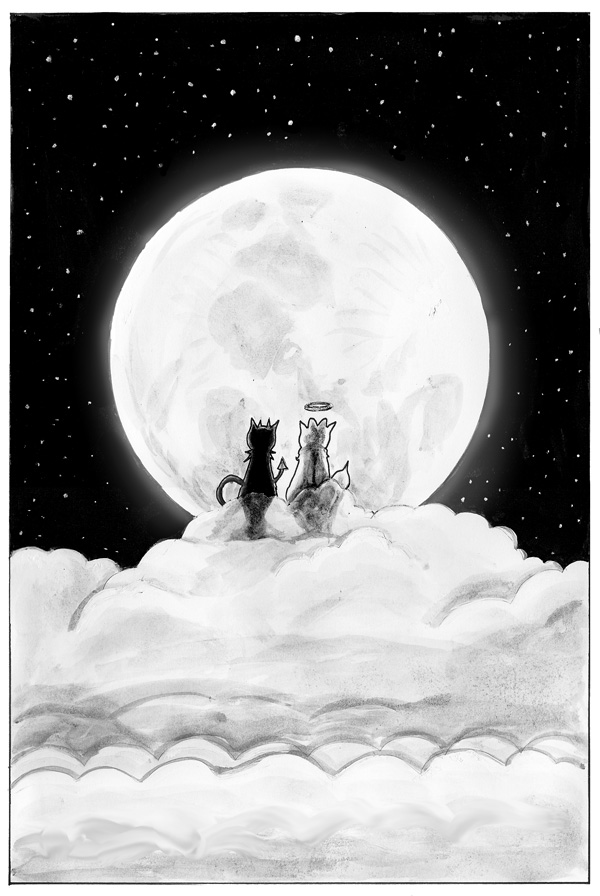 Oh, give me a June night, the moonlight, and you . . . .